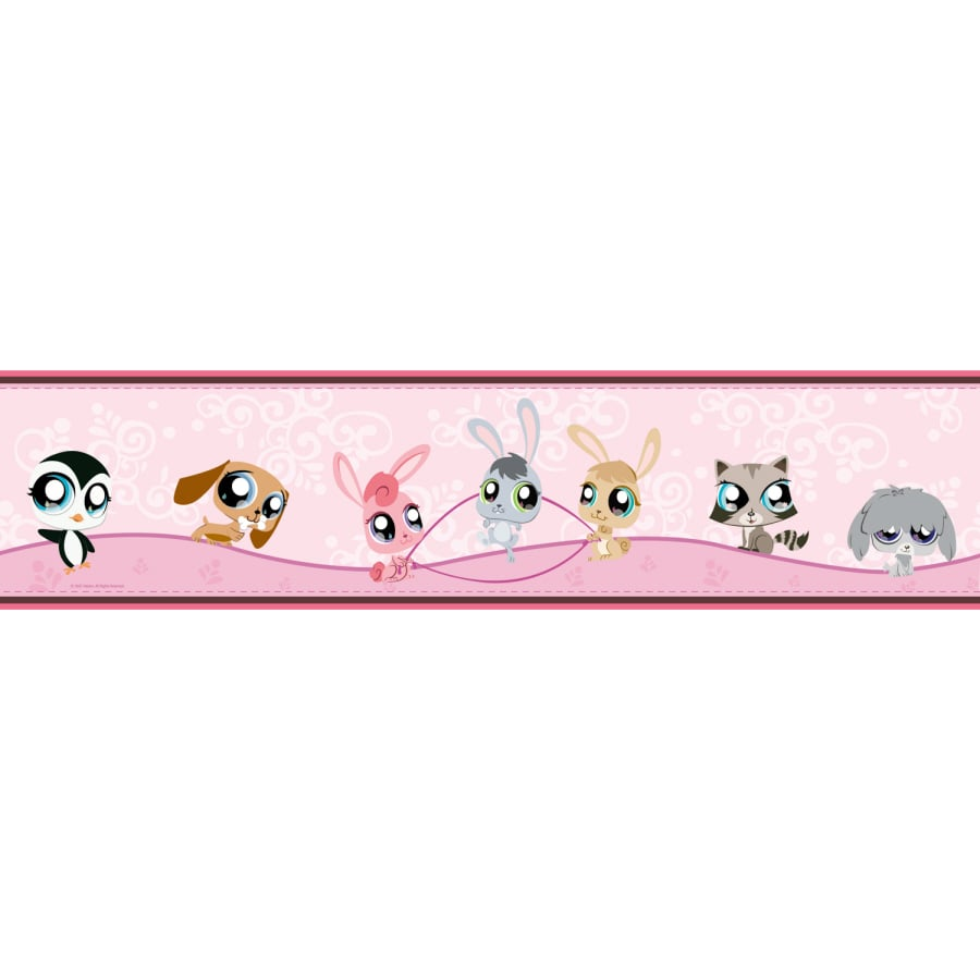 RoomMates Littlest Pet Shop Peel And Stick Wallpaper Border