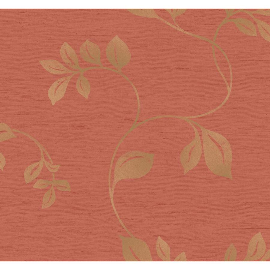 Inspired By Color Orange and Yellow Book Red and Brown Paper Ivy/Vines Wallpaper