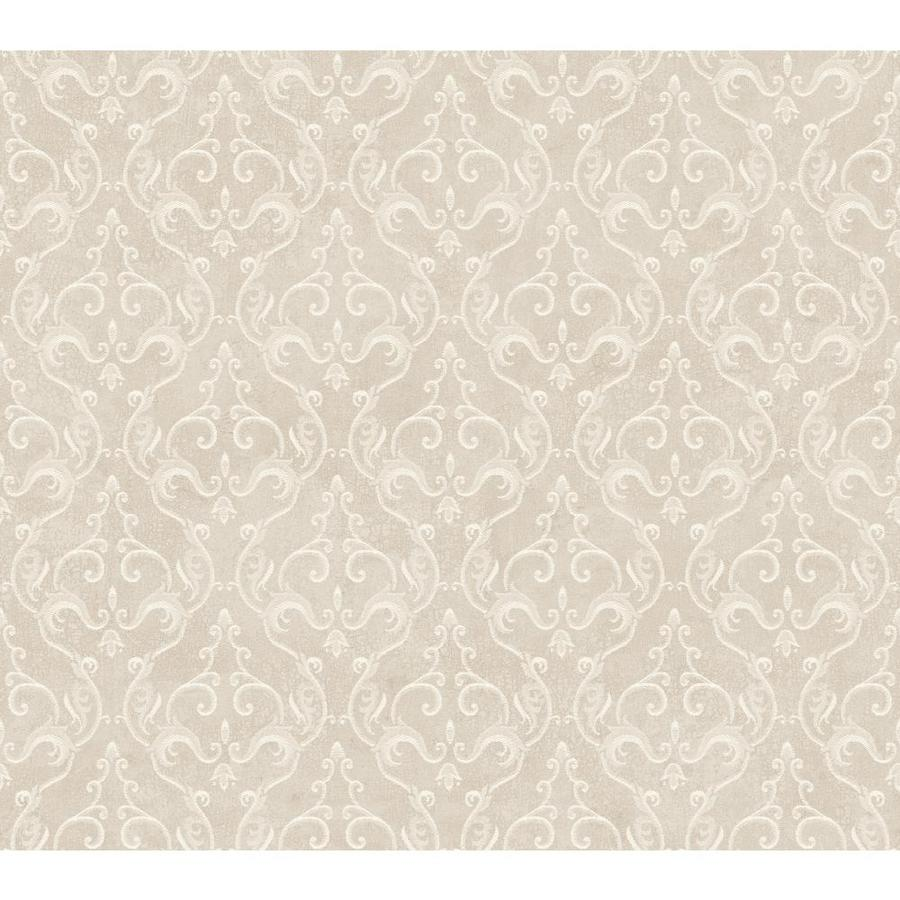 Inspired By Color Metallics Book Silver Paper Damask Wallpaper