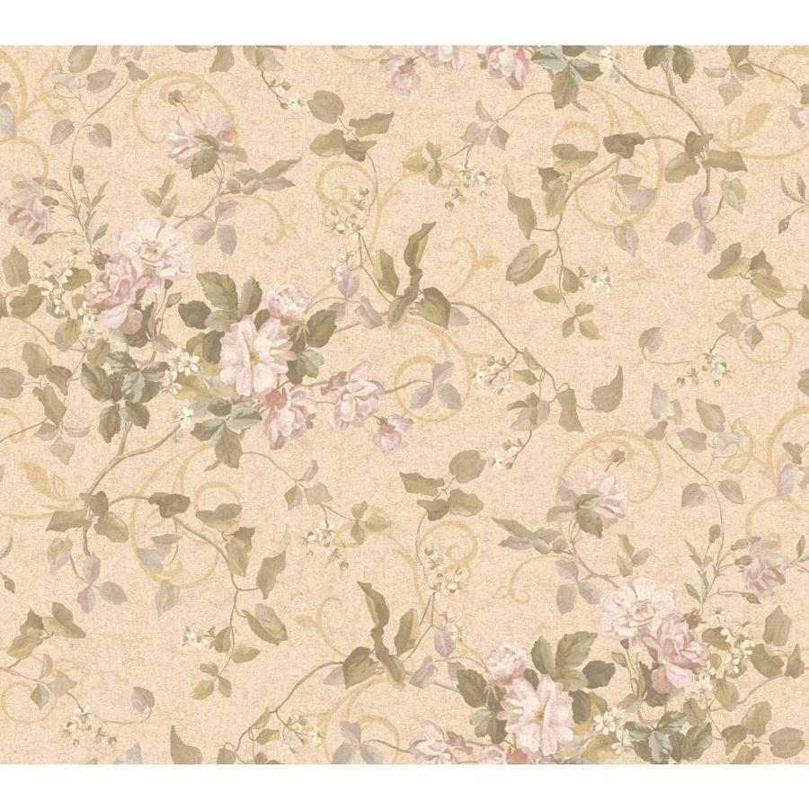 Inspired By Color Orange and Yellow Book Pink and Green Paper Floral Wallpaper