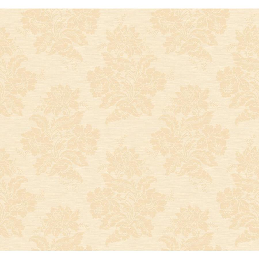 Inspired By Color Orange and Yellow Book Peach Paper Damask Wallpaper