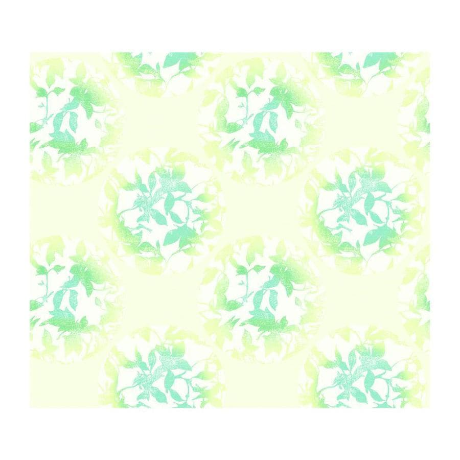 York Wallcoverings Seafoam Green/Sea Glass Teal/Linen Paper Abstract Wallpaper