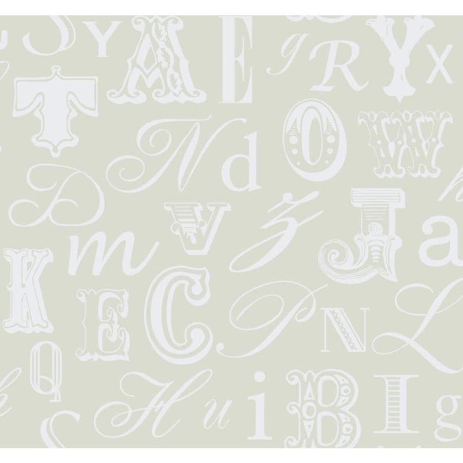 York Wallcoverings Risky Business Ii White/Oyster Pearl Paper Geometric Wallpaper