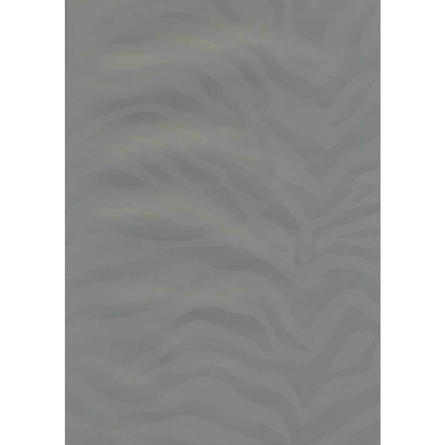 York Wallcoverings Risky Business II Gold Shimmer/Blue Slate Paper Abstract Wallpaper