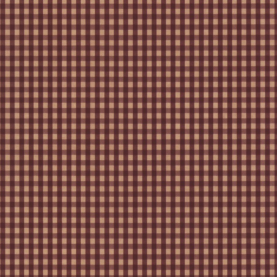 York Wallcoverings Burgundy/Tan Paper Wallpaper