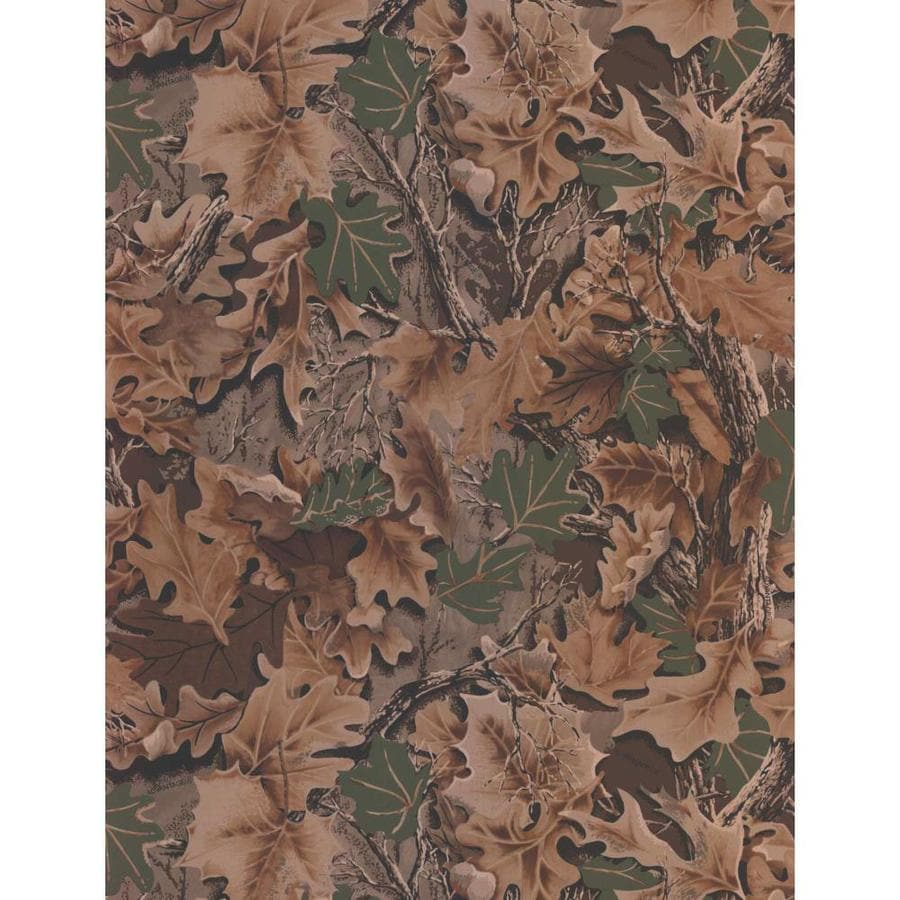 Inspired By Color Country Book Green and Brown Paper Camouflage Wallpaper