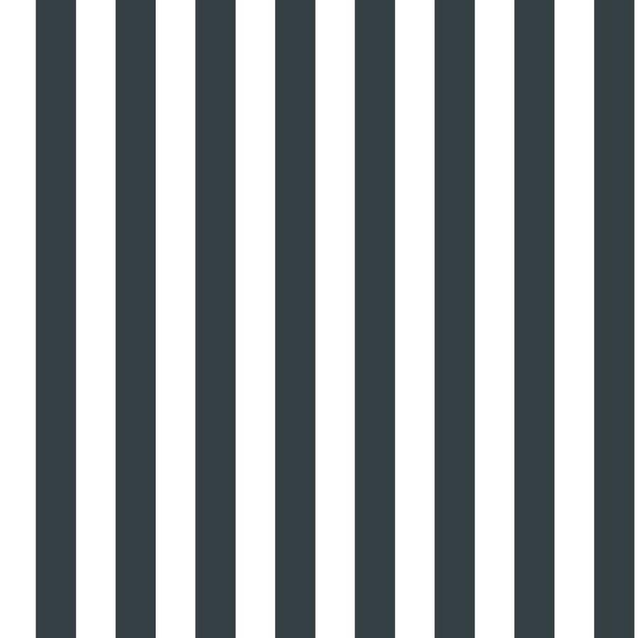 York Wallcoverings Black And White Book Paper Stripes Wallpaper