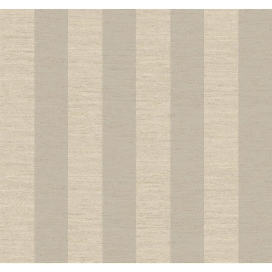 Inspired By Color Metallics Book Silver Paper Stripes Wallpaper