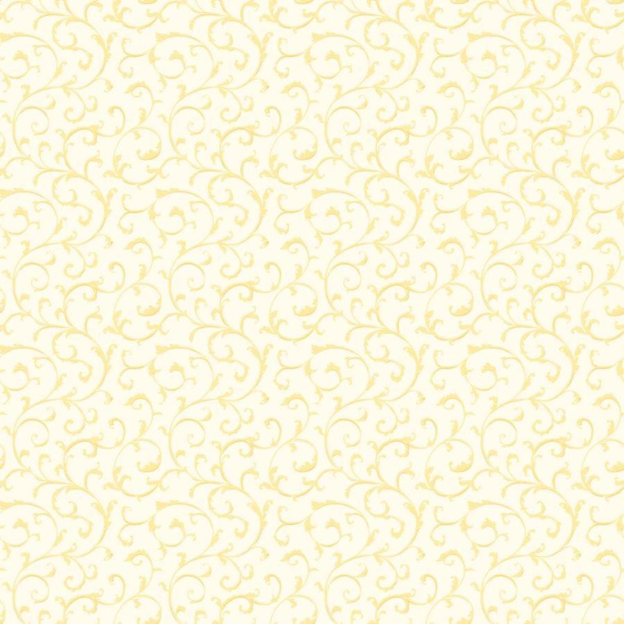 Inspired By Color Orange and Yellow Book Yellow and White Paper Textured Scroll Wallpaper
