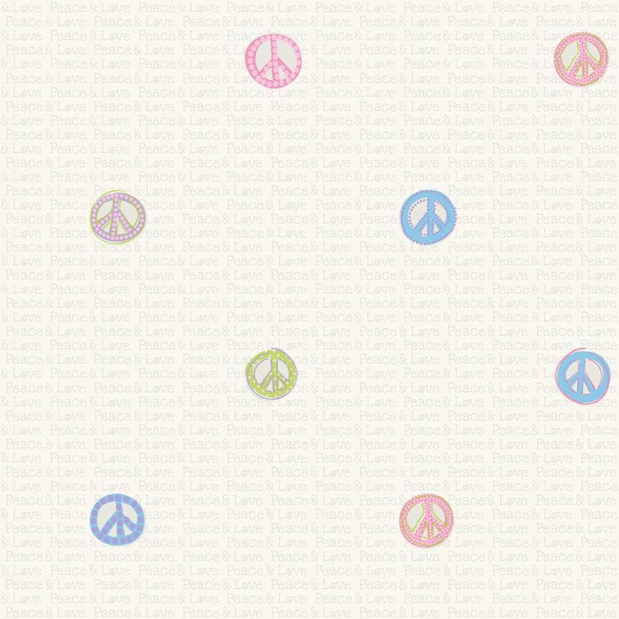 Inspired By Color Pink, Blue, Purple, Green Paper Wallpaper