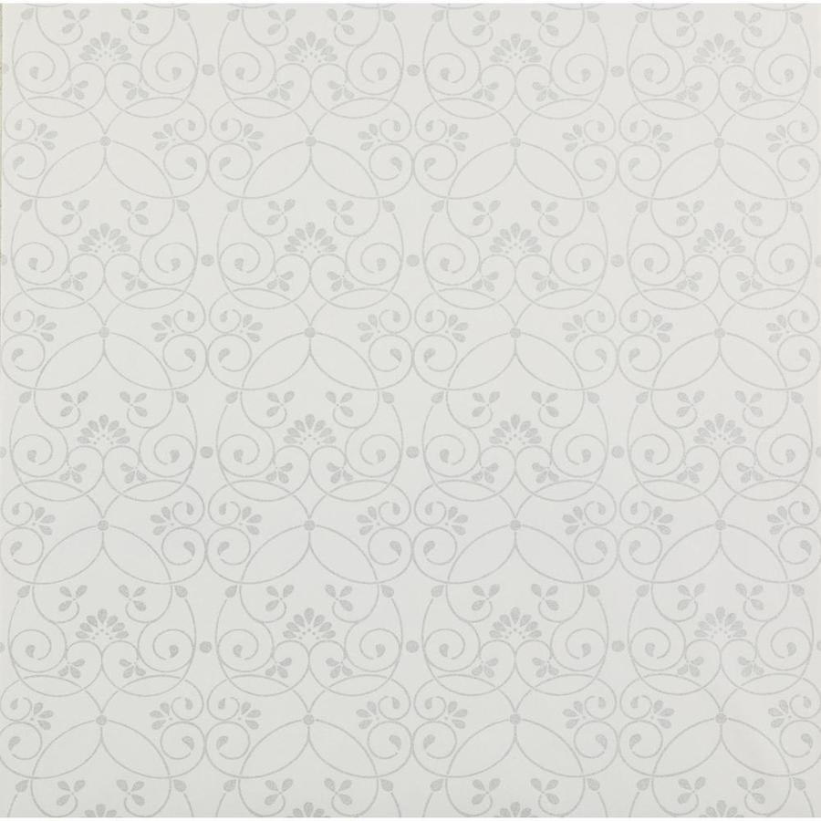 Inspired By Color Kids Book Gray Paper Textured Scroll Wallpaper