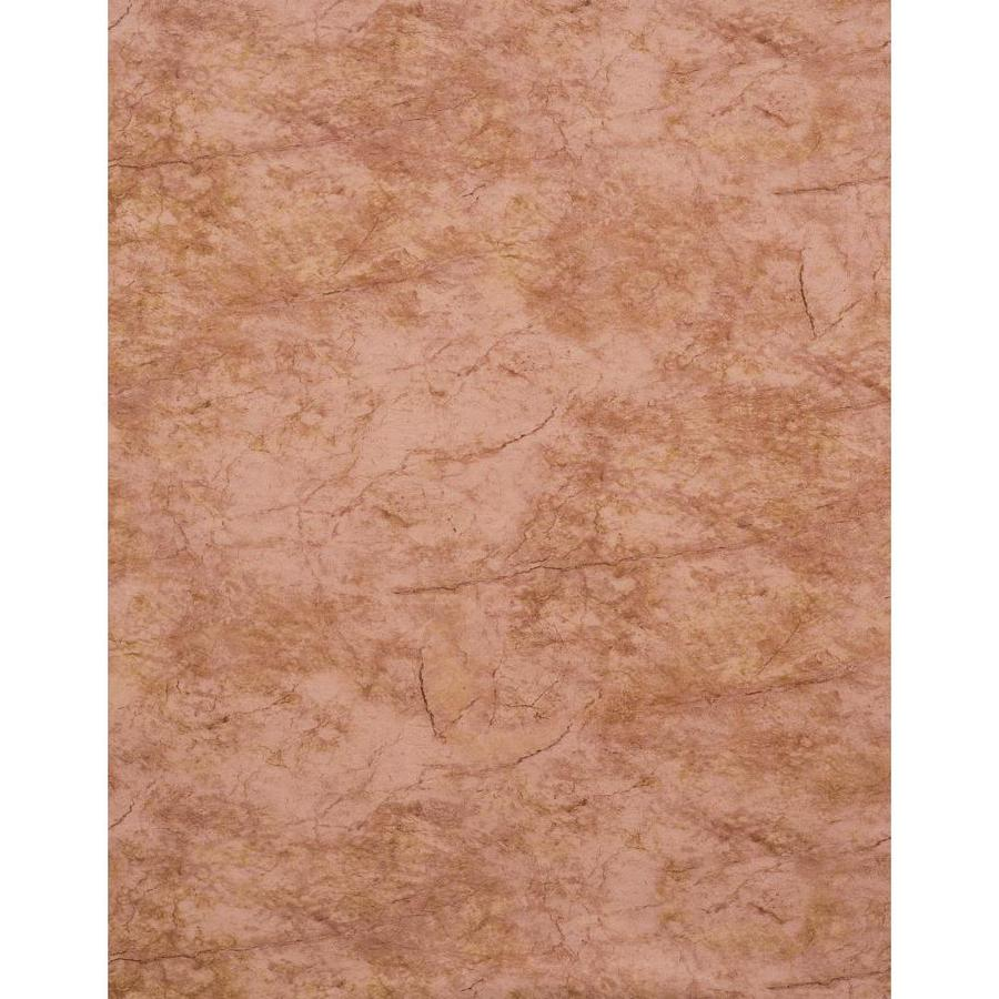 York Wallcoverings Red, Brown and Stone Vinyl Wallpaper
