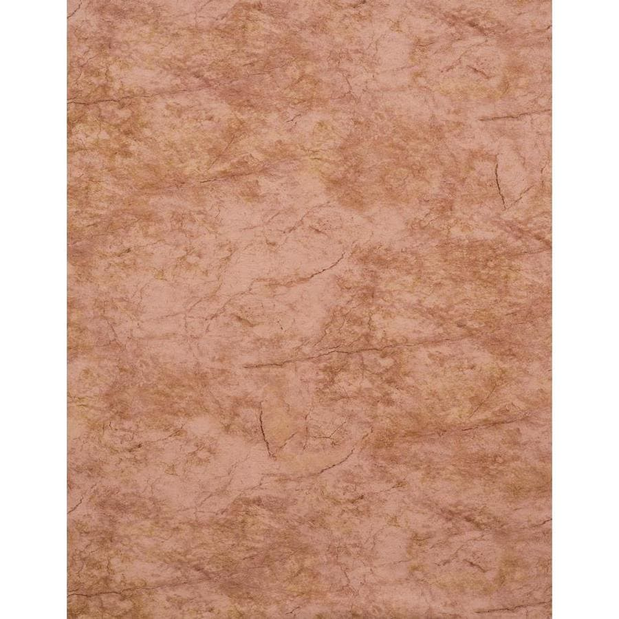 York Wallcoverings Modern Rustic Red, Brown and Stone Vinyl Textured Stone Wallpaper