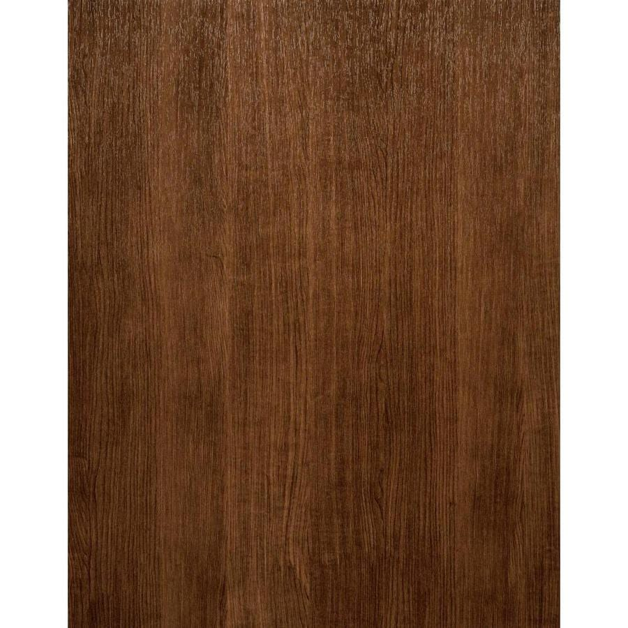 York Wallcoverings Modern Rustic Brown Vinyl Textured Wood Wallpaper