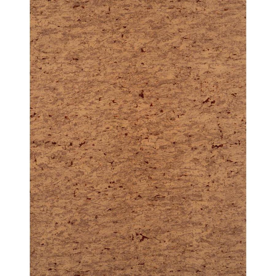 York Wallcoverings Enchantment Auburn Vinyl Textured Wood Wallpaper