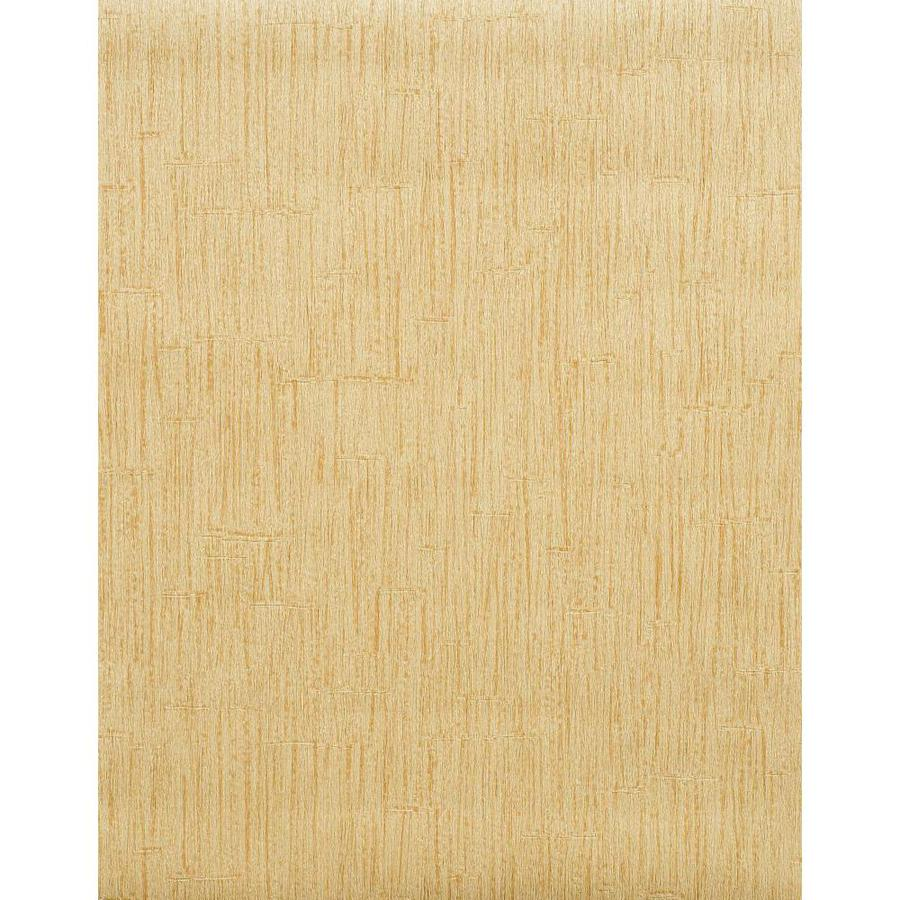 York Wallcoverings Modern Rustic Gold Vinyl Textured Wood Wallpaper
