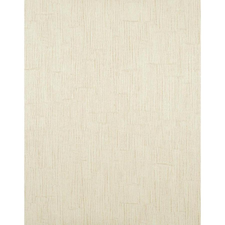 York Wallcoverings Modern Rustic Cream Vinyl Textured Wood Wallpaper