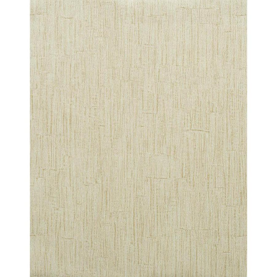 York Wallcoverings Modern Rustic Beige Vinyl Textured Wood Wallpaper