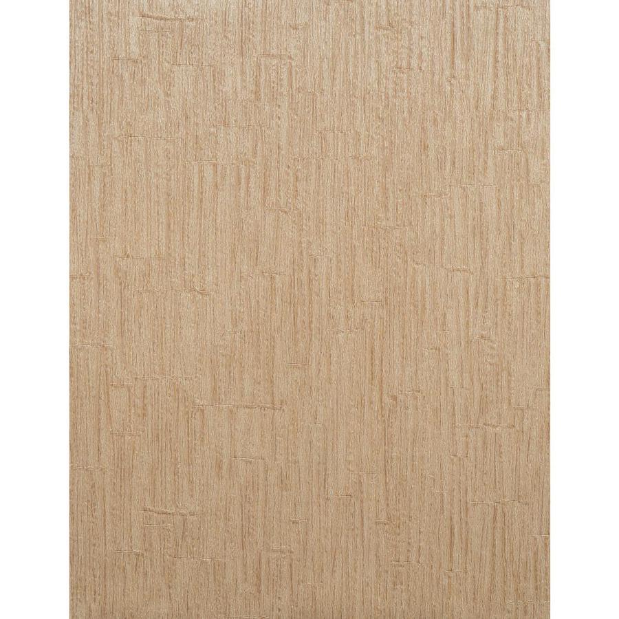 York Wallcoverings Modern Rustic Brown Vinyl Textured Wood Wallpaper