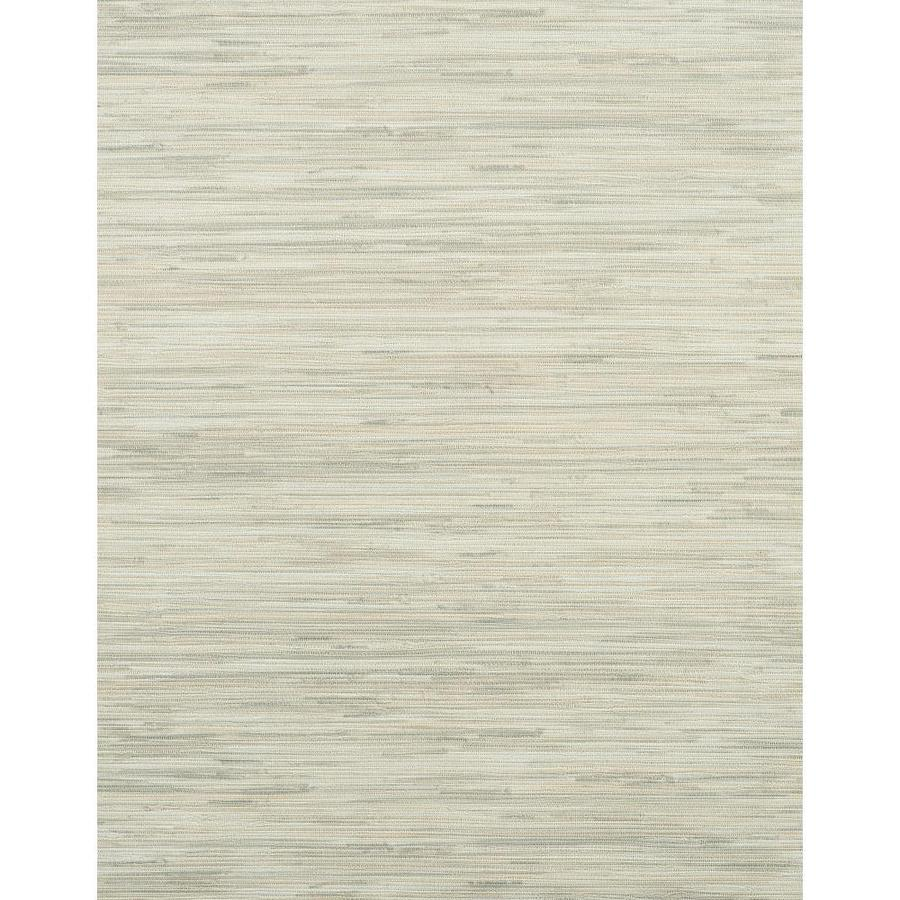 York Wallcoverings Modern Rustic Gray Vinyl Textured Grasscloth Wallpaper