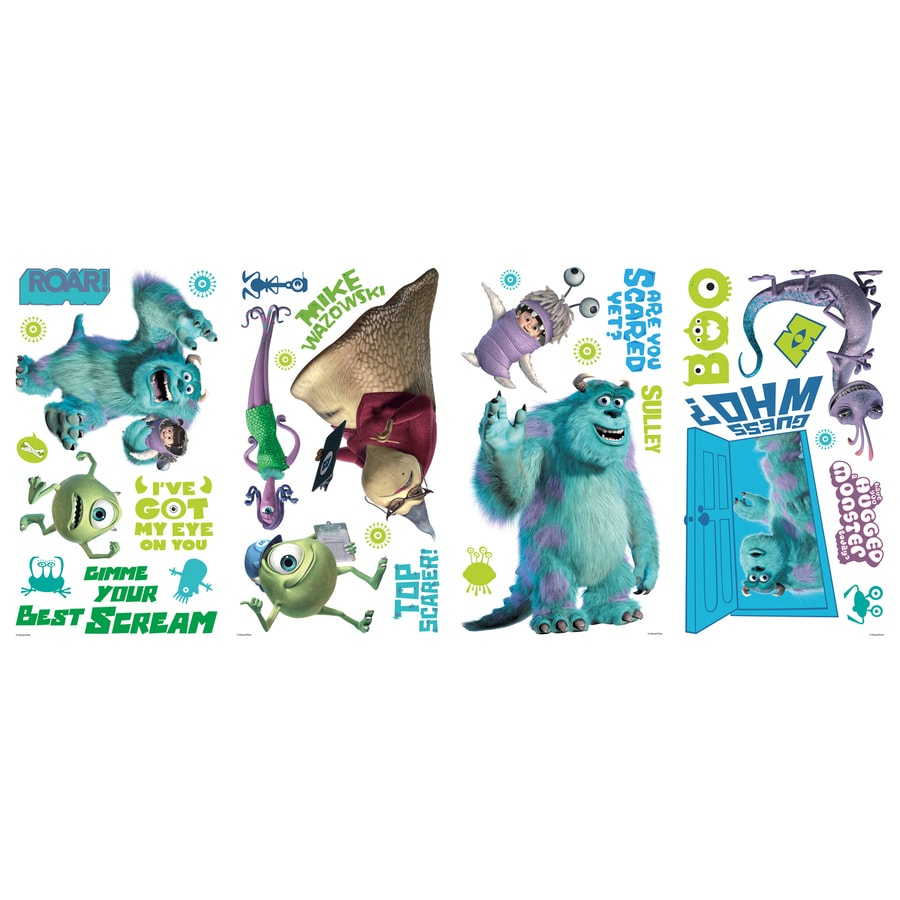 RoomMates 31-Pack Roommates Peel & Stick Kids-General Wall Stickers