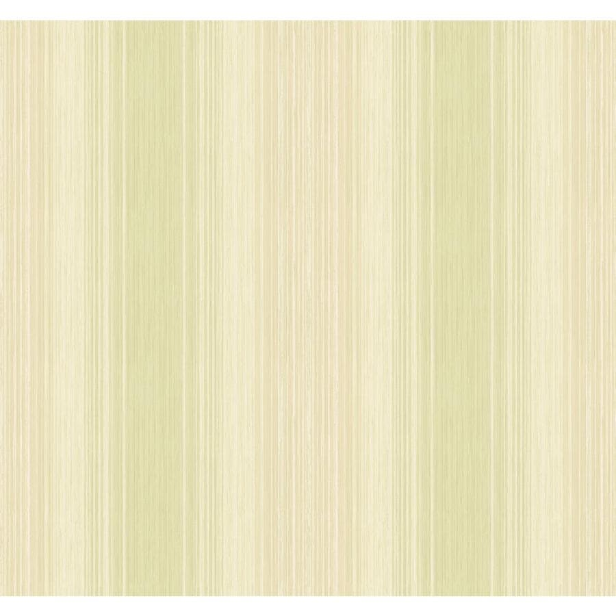 Inspired By Color Ashford Stripes Green and Tan Paper Stripes Wallpaper