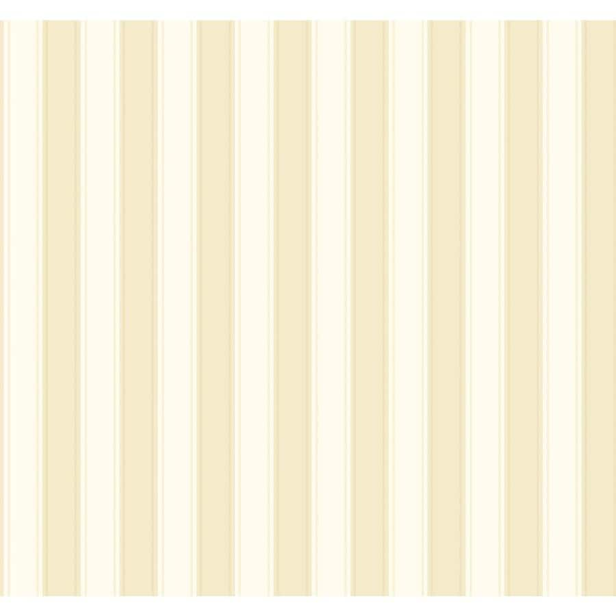 Inspired By Color Ashford Stripes Tan and Cream Paper Stripes Wallpaper
