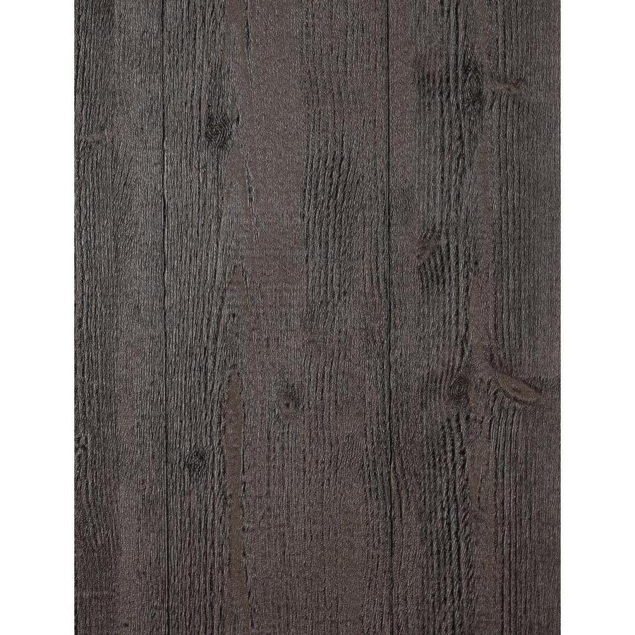 York Wallcoverings Country Keepsakes Black Vinyl Textured Wood Wallpaper