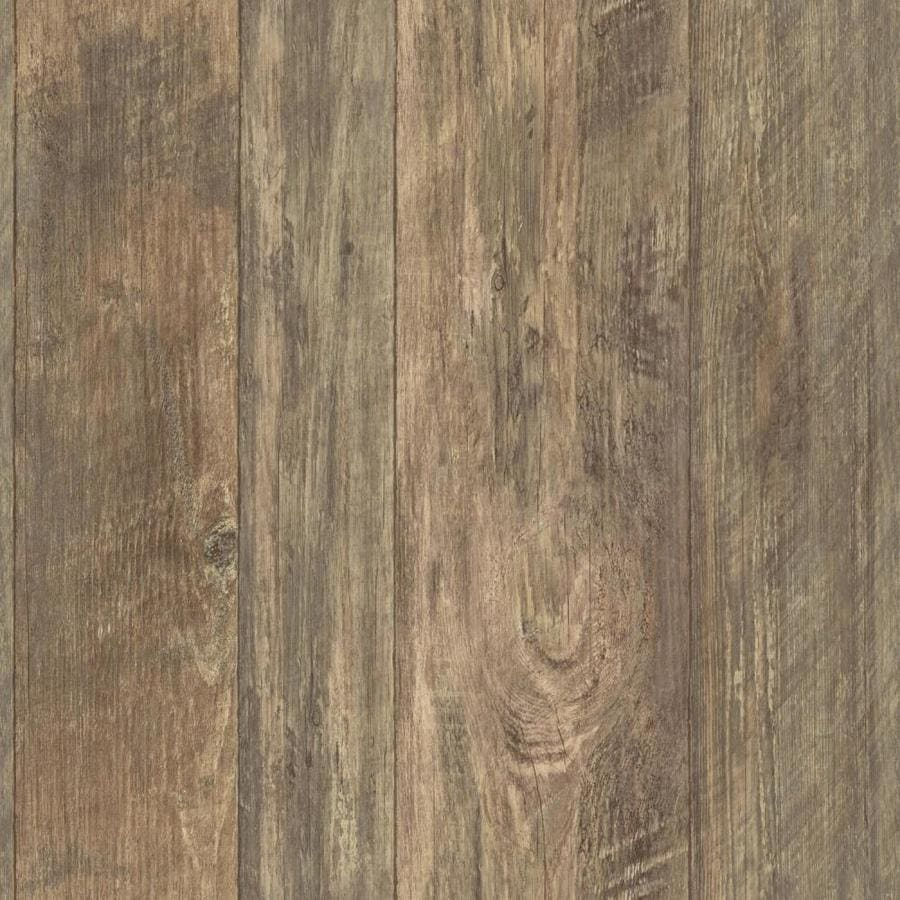 York Wallcoverings Rustic Living 56 Sq Ft Brown Paper Beadboard Soak And Hang
