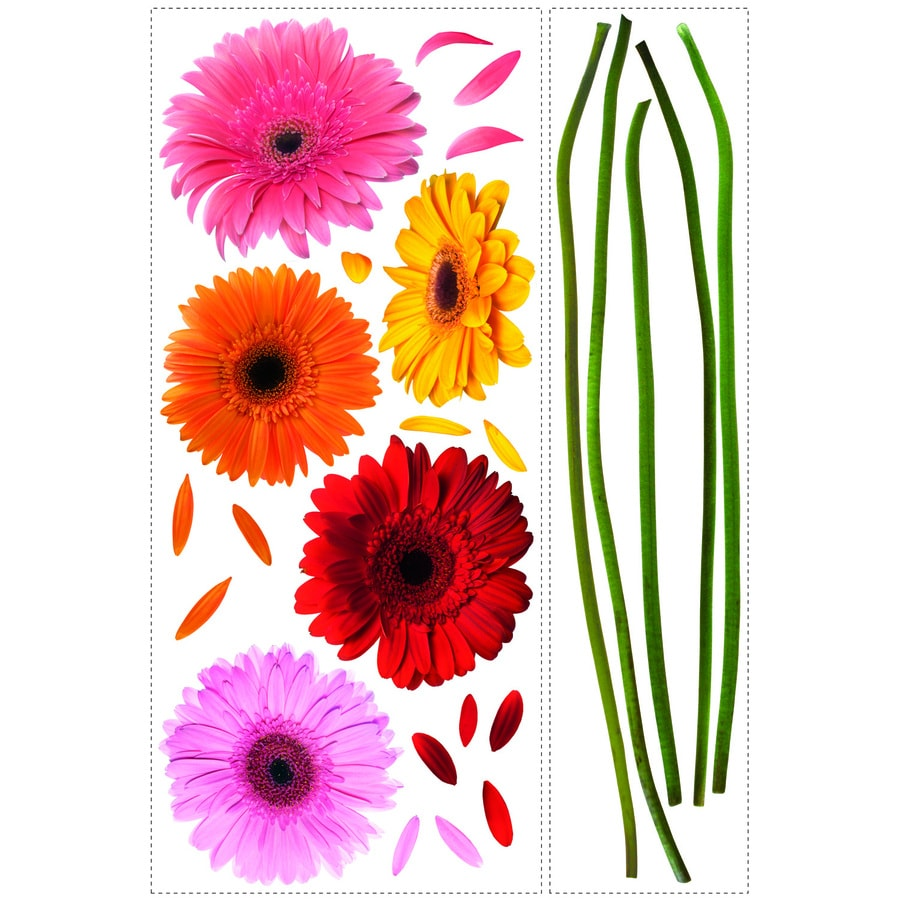 RoomMates Peel & Stick Floral Wall Stickers