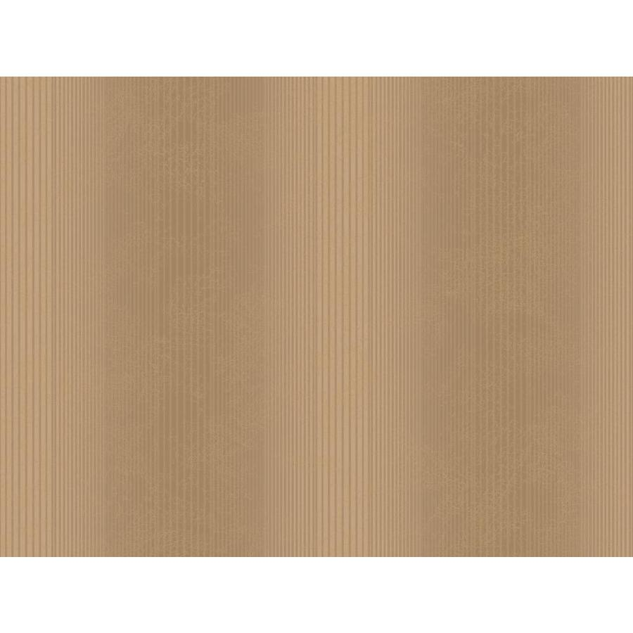 Inspired By Color Metallics Book Brown and Tan Paper Textured Stripes Wallpaper
