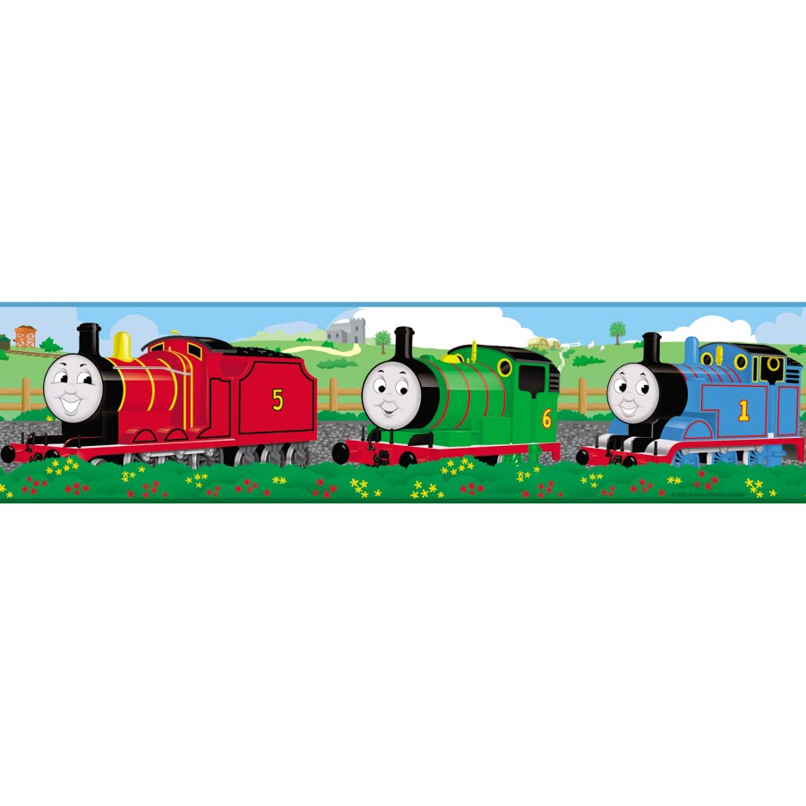 RoomMates Thomas & Friends Peel and Stick Border