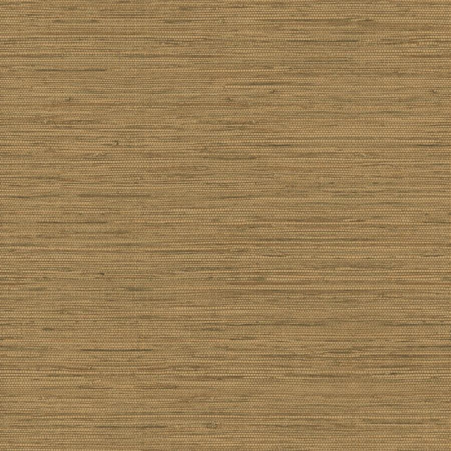 Inspired By Color Natural Elements Brown Paper Textured Grasscloth Wallpaper