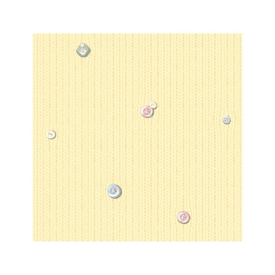 York Wallcoverings Kids Book Yellow Paper Textured Abstract Wallpaper