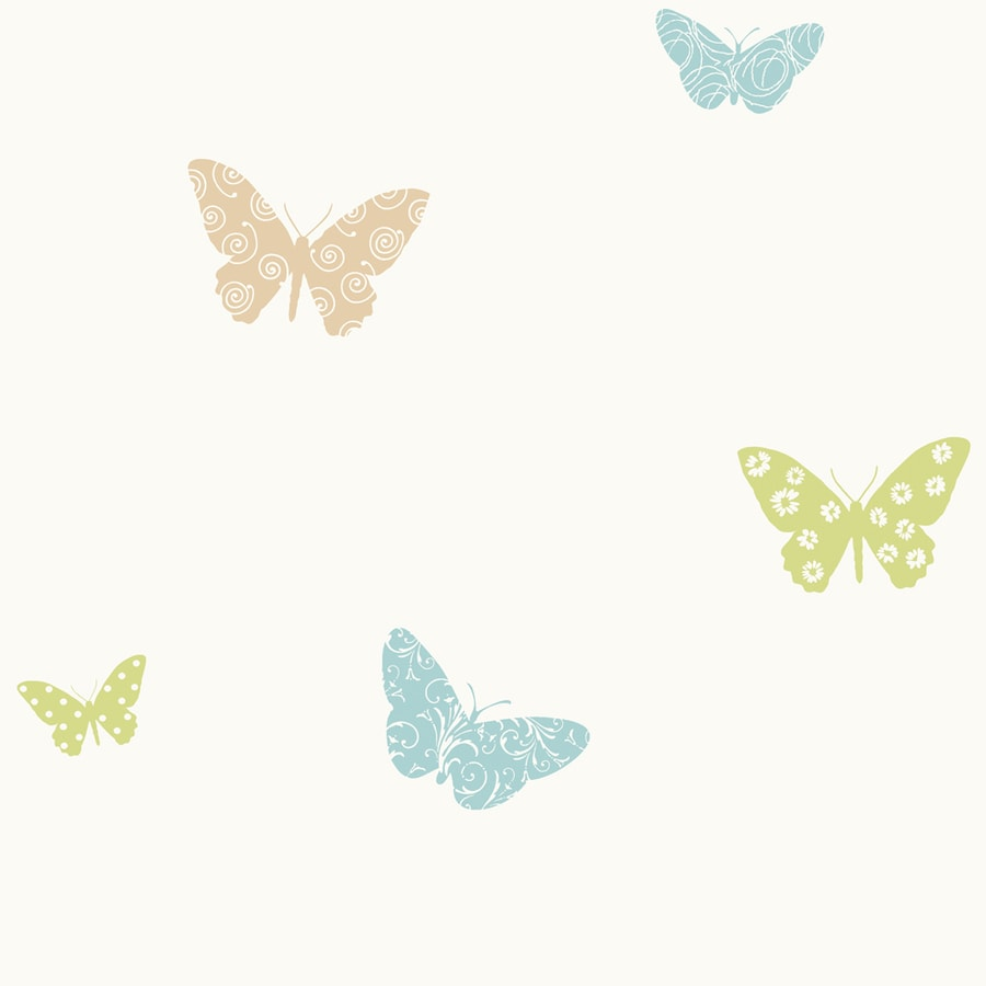 York Wallcoverings White Paper Ivy/Vines Wallpaper