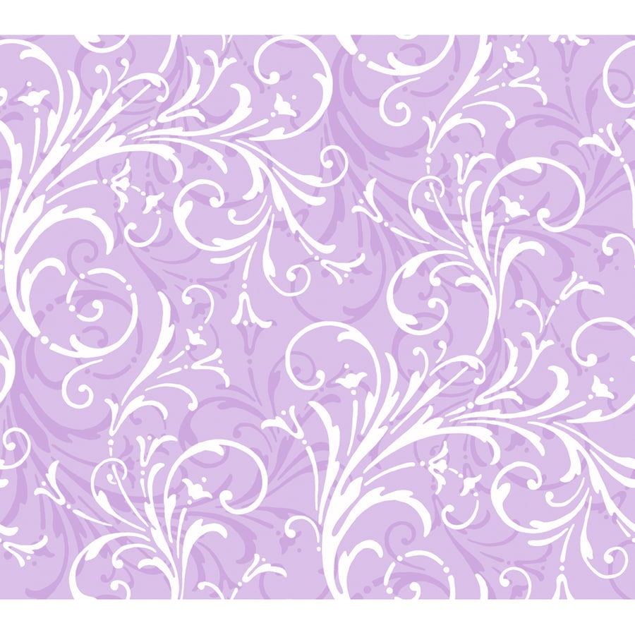 York Wallcoverings Purple Paper Wood Wallpaper