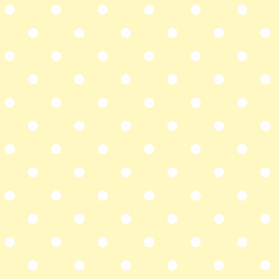 York Wallcoverings Peek-A-Boo Yellow Paper Polka Dot Wallpaper