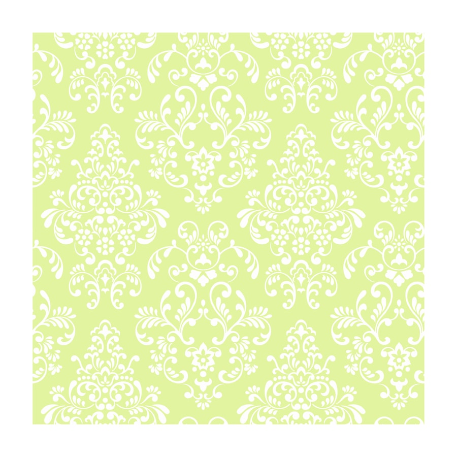 York Wallcoverings Green Paper Wood Wallpaper