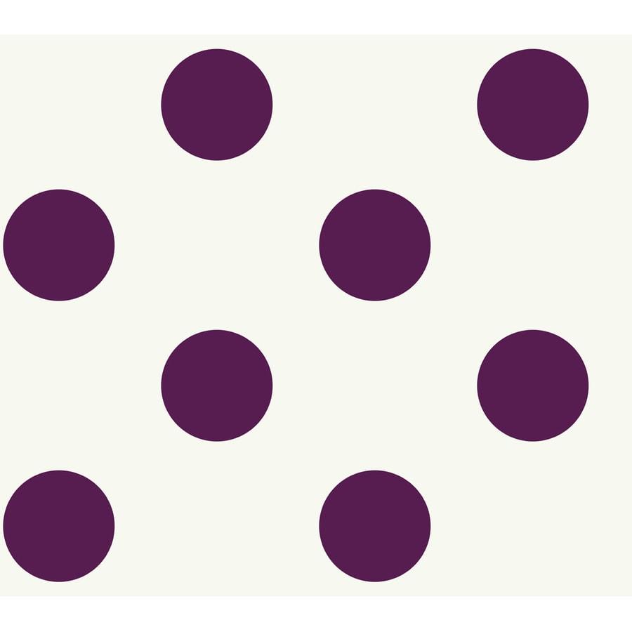 York Wallcoverings Purple Paper Wood Wallpaper