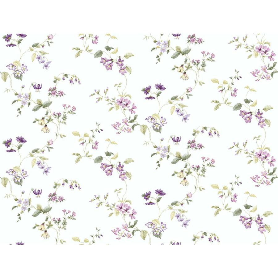 Inspired By Color Pink and Purple Book Green and Purple Paper Floral Wallpaper