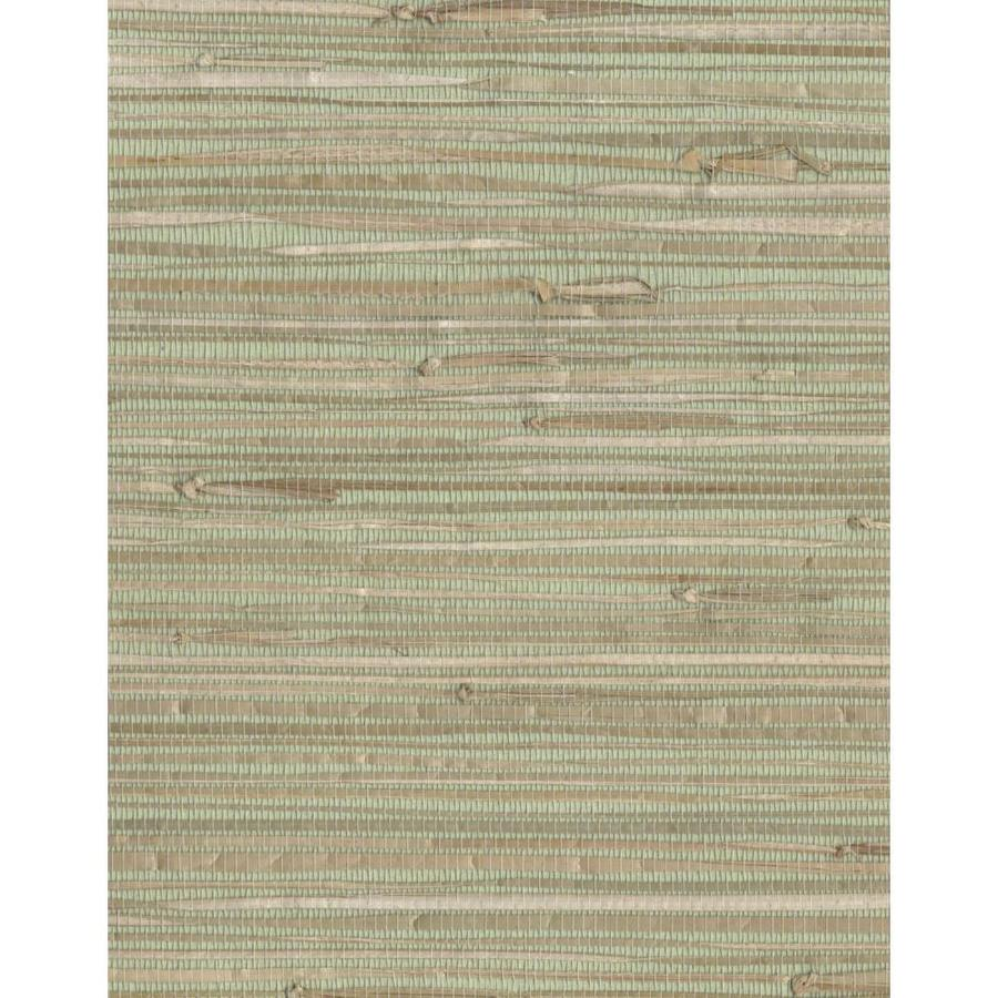 Shop York Wallcoverings Cp9348 Grasscloth Book Grasscloth: Shop York Wallcoverings Grasscloth Book 72-sq Ft Green