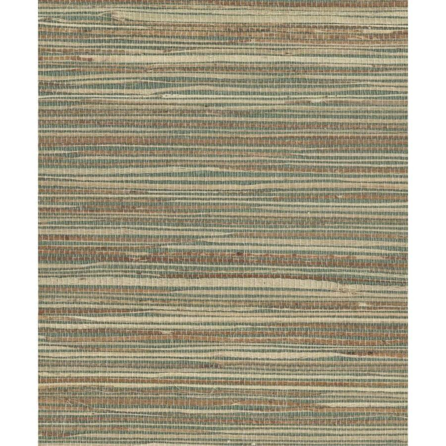 Shop York Wallcoverings Cp9348 Grasscloth Book Grasscloth: York Wallcoverings Grasscloth Book 72-sq Ft Brown Paper