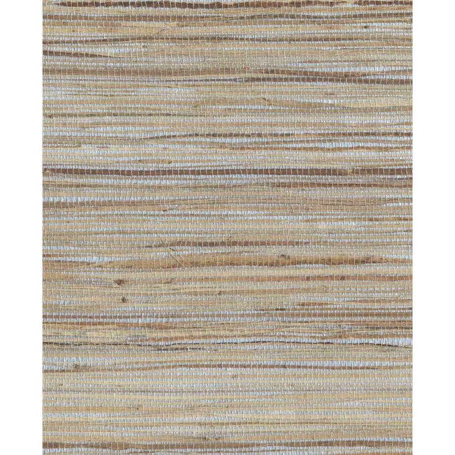 Shop York Wallcoverings Cp9348 Grasscloth Book Grasscloth: York Wallcoverings Grasscloth Book 72-sq Ft Beige Paper