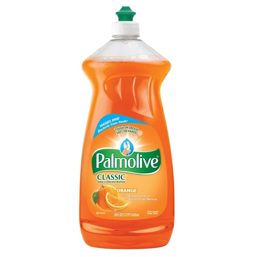 Shop palmolive 28 oz orange dish soap at lowes com