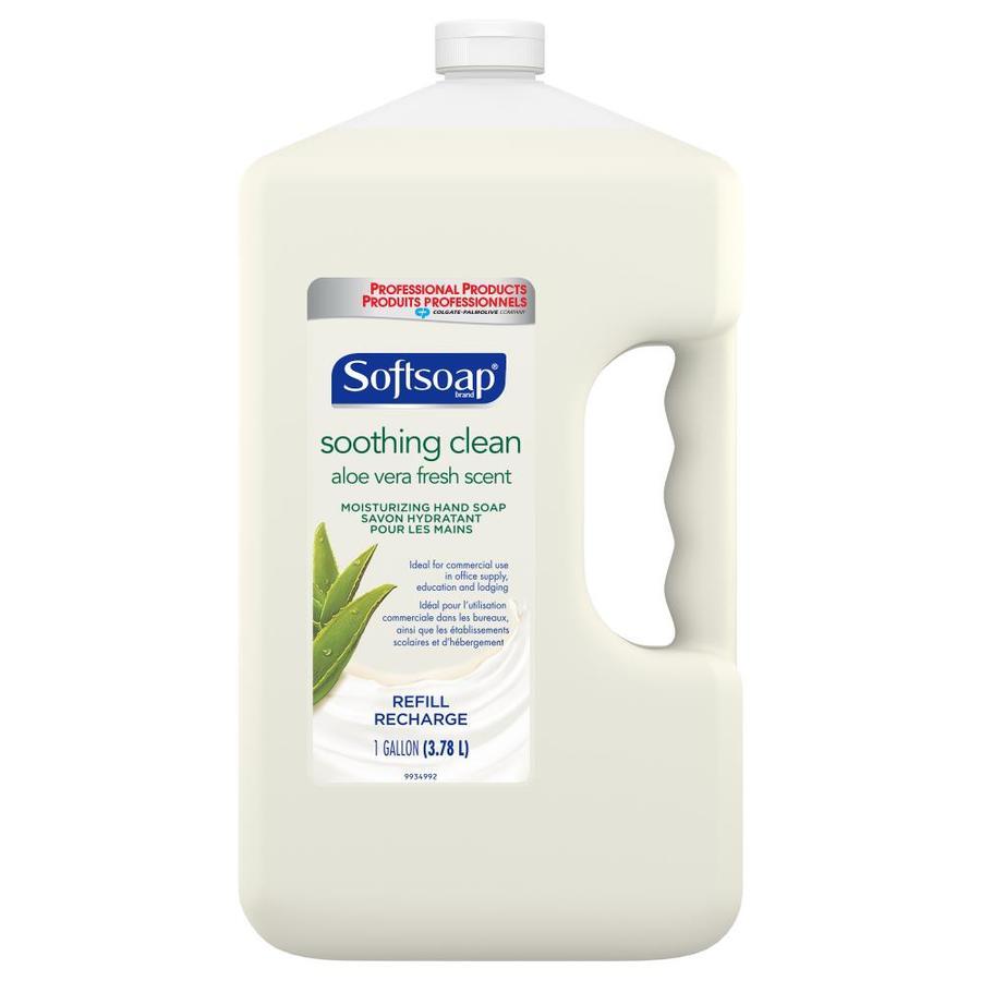 Softsoap 128-fl oz Soothing Aloe Vera Hand Soap