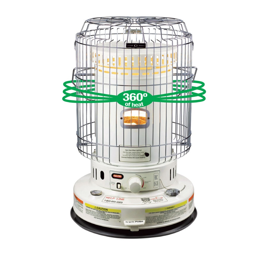 Shop Dyna-Glo 23,000-BTU Convection Kerosene Heater at Lowes.com