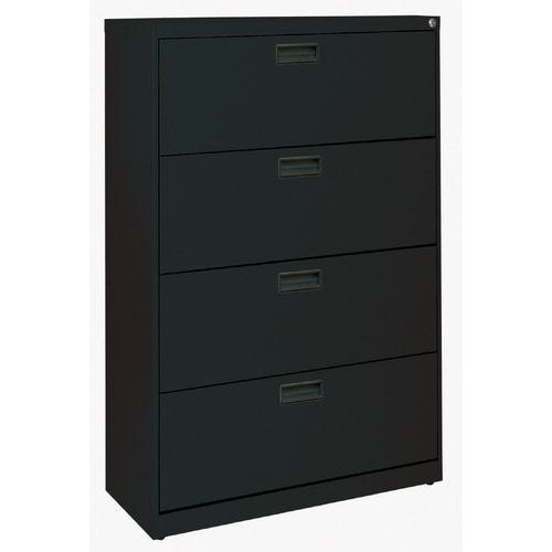 Edsal Black 4 Drawer File Cabinet At Lowes