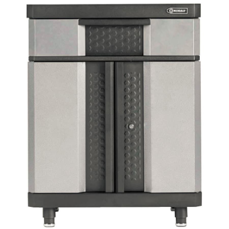 Kobalt Garage Cabinets: Kobalt 37-in H X 30-in W X 20-in D Metal Garage Cabinet At