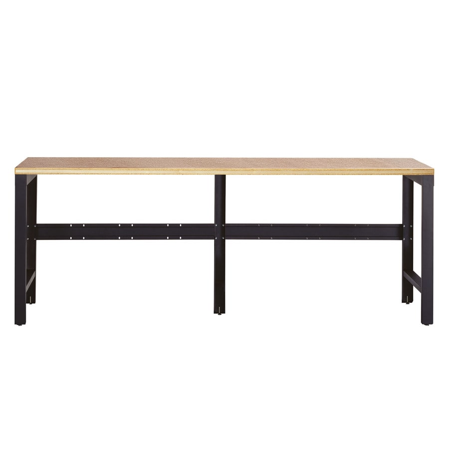 Shop Edsal 90 In W X 36 In H Adjustable Height Wood Work Bench At