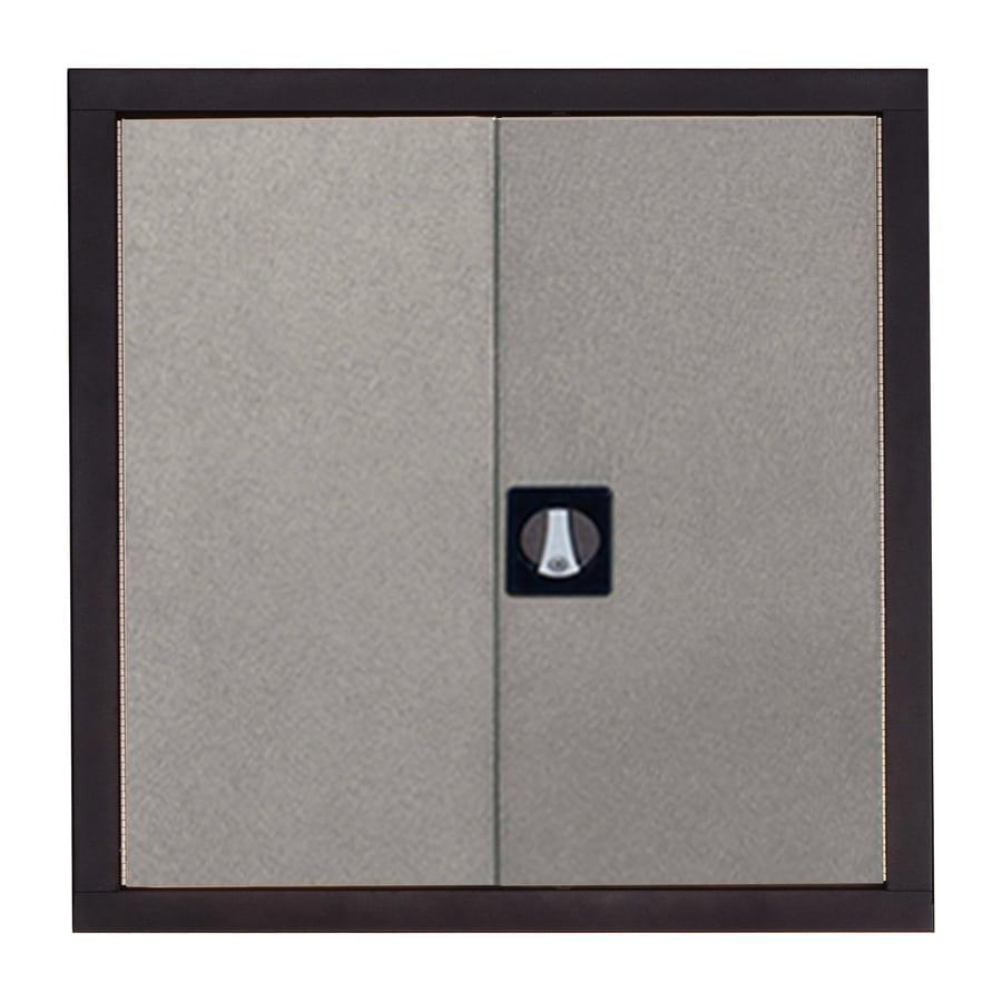 edsal 30-in W x 30-in H x 12-in D Steel Freestanding Garage Cabinet